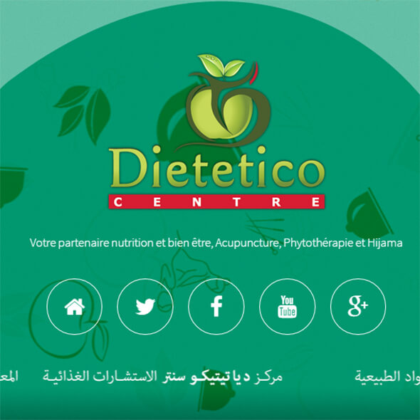Dietetico Centre Web design