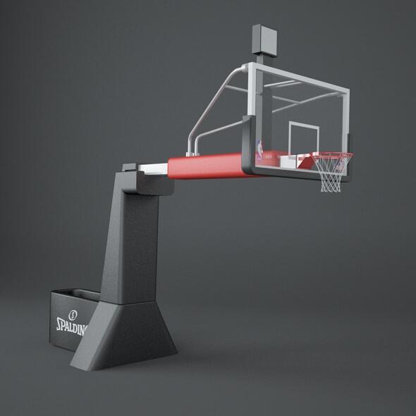 NBA Rim 3D Model