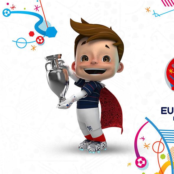 Euro 2016 3D model
