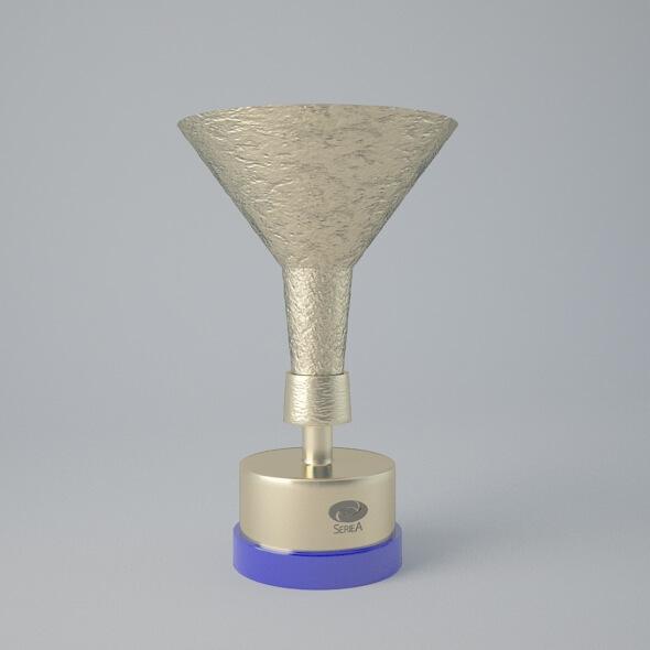 3D model free Download Seria A Trophy