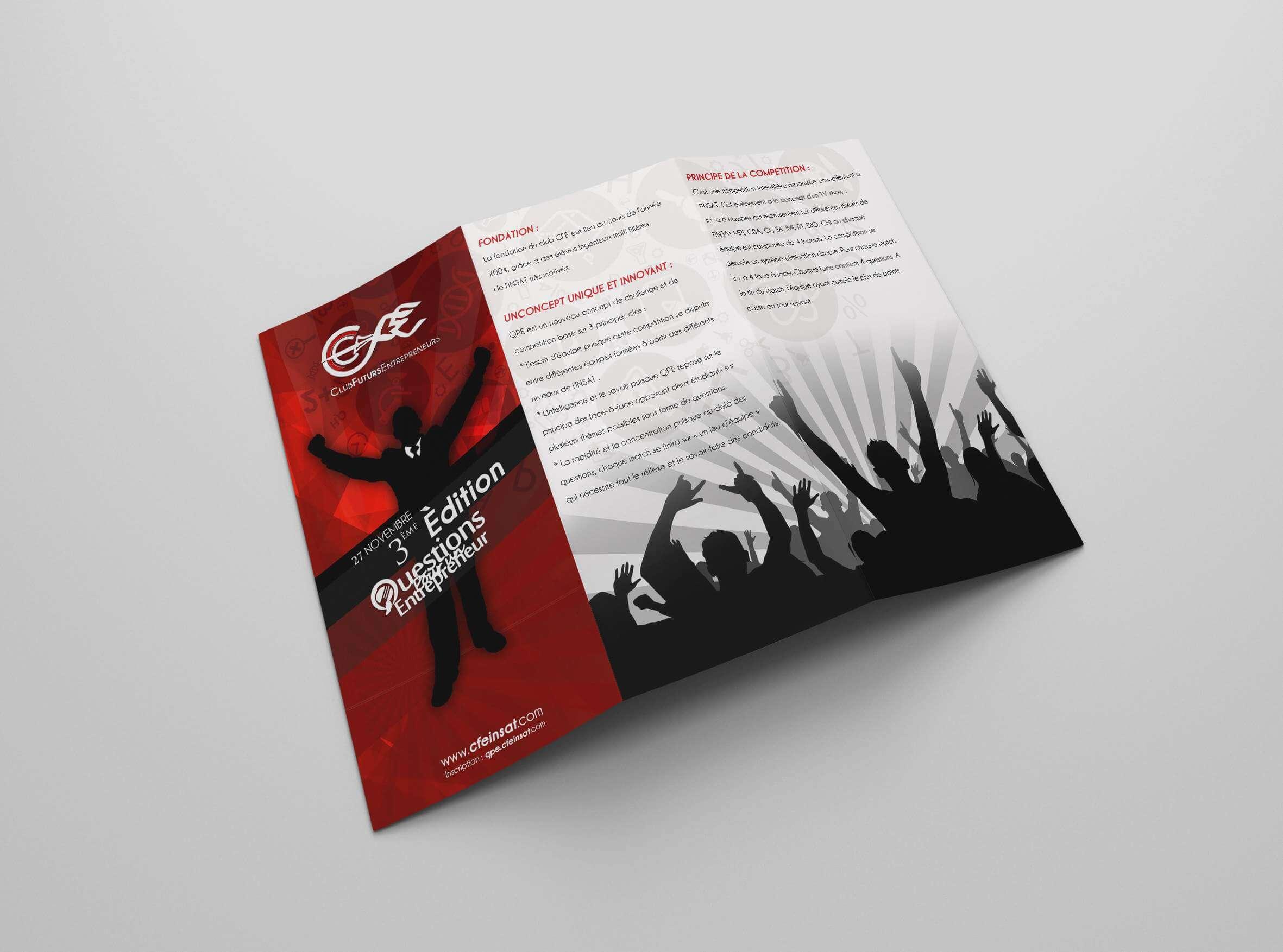 Flyer CFE Design Graphique insat