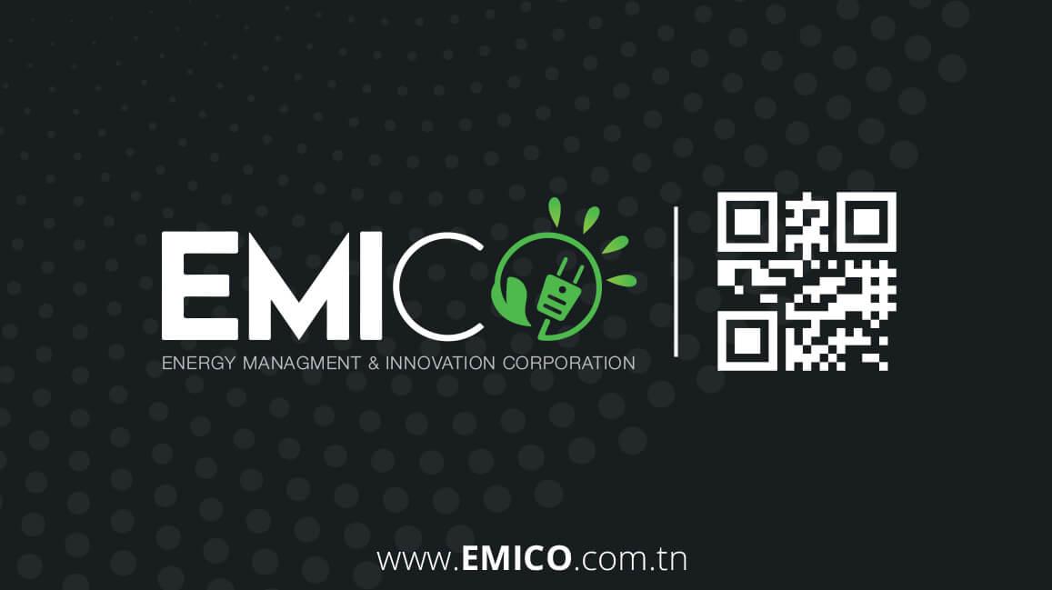 emico Design Logo Charte Graphique Business Card