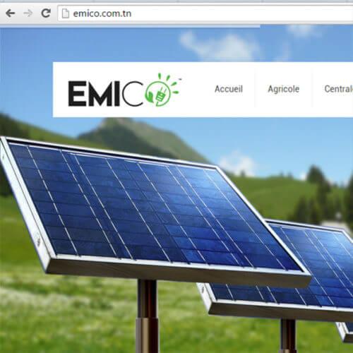 Emico Web Design Charte Graphique logo