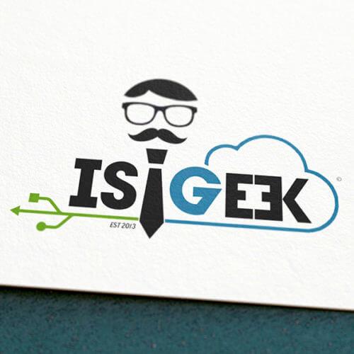 ISIGEEK Design Logo Charte Graphique