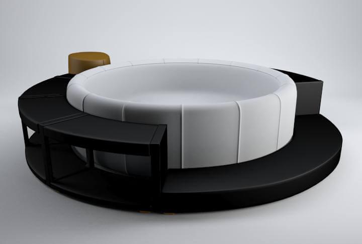 softub spapool Design 3D Model