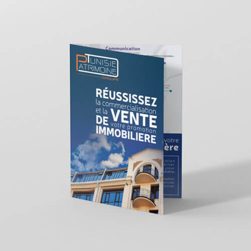 Plaquette, Brochure Tunisie Patrimoine Groupe